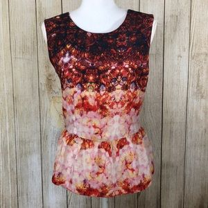 Peplum Top W118 by Walter Baker Size S Small